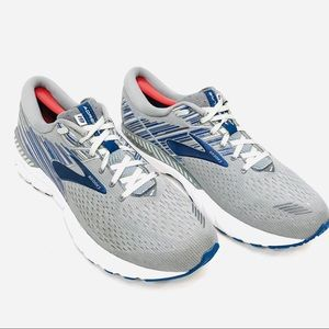 Brooks Adrenaline GTS 19 Running Shoes Gray & Blue